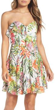 Adelyn Rae Leanna Strapless Dress