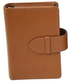 Royce Leather Unisex Double Decker Playing Card Case 601-8.
