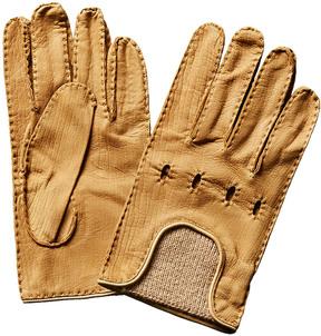 Portolano Men's Handsewn Wool & Leather Gloves