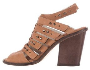 Freda Salvador Multistrap Leather Sandals
