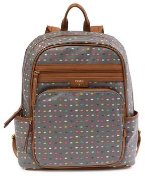 Fossil Ivy Print Backpack