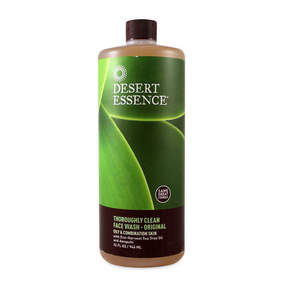 Thoroughly Clean Face Wash - Original by Desert Essence (32oz Face Wash)