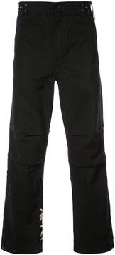 MHI embroidered back trousers