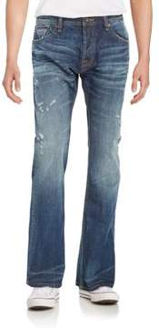 Cult of Individuality Relaxed-Fit Distressed Denim Jeans