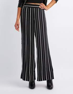 Charlotte Russe Striped Wide Palazzo Pants