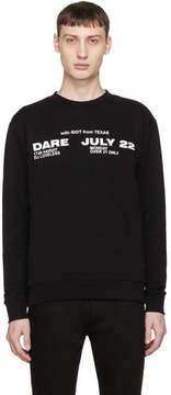 McQ Black Dare July 22 Clean Sweatshirt
