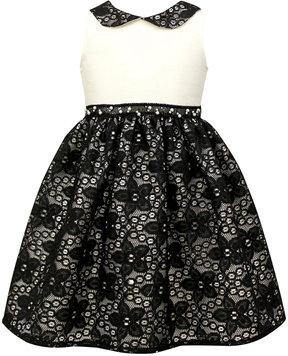 Jayne Copeland Black & White Ball Gown, Toddler Girls (2T-5T)