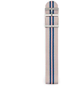 Fossil 18mm Stripe Polyester Watch Strap