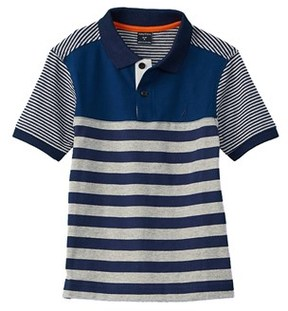 Nautica Boys' Stripe Polo.