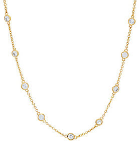Elizabeth Taylor The Simulated Diamond Station 18 Chain