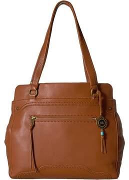 The Sak Tahoe Leather Carry All Handbags