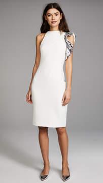Black Halo Pabla Colorblock Sheath Dress