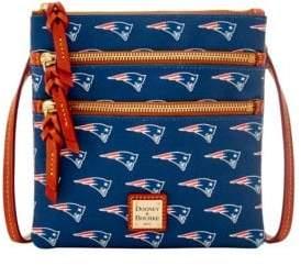 Dooney & Bourke New England Patriots Triple Zip Crossbody Bag