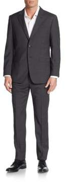Moschino Regular-Fit Stretch Wool Suit