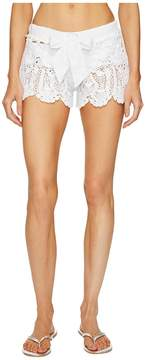 Letarte Crochet Shorts Women's Swimwear