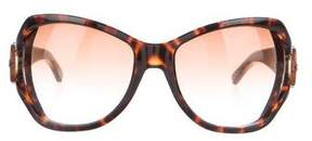 Marc Jacobs Oversize Tortoise Sunglasses