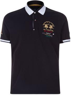 La Martina Kuwait Crest Polo Shirt