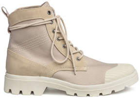 H&M Chunky-soled boots - Beige