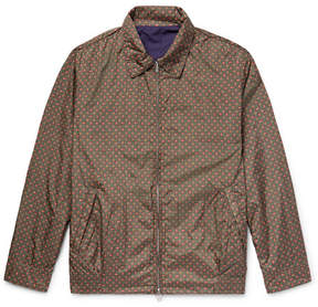 Beams Reversible Cotton And Printed Nylon Blouson Jacket