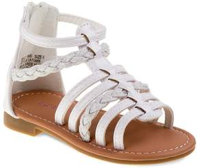 Laura Ashley Toddler Girls' Strappy Ankle-Cuff Sandals