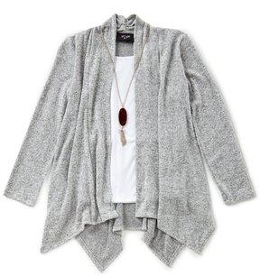 I.N. Girl Big Girls 7-16 Long-Sleeve Cardigan & Shirt Set