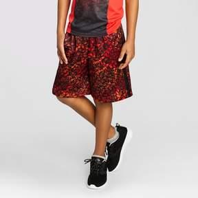 Champion Boys' Printed Lacrosse Shorts Red Print
