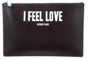 Givenchy Iconic Print Pouch w/ Tags