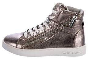 MICHAEL Michael Kors Girls' Metallic High-Top Sneakers