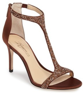Imagine by Vince Camuto Women's 'Phoebe' Embellished T-Strap Sandal