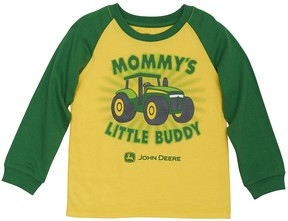 John Deere Toddler Boy Mommy's Little Buddy Raglan Tee