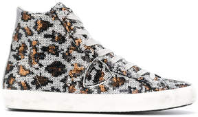 Philippe Model sequins embellished sneakers