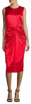 Donna Karan Drape Front Dress