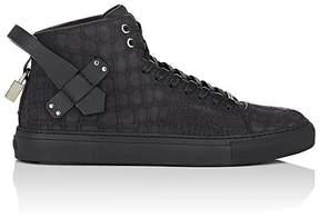 Buscemi Men's 100MM Stamped Nubuck Sneakers