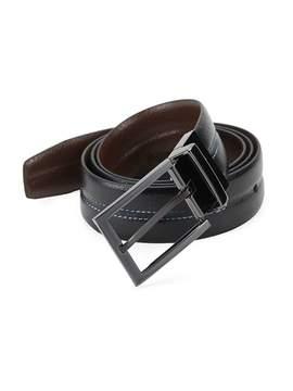 Robert Graham Men's Macerio Leather Belt
