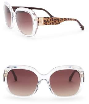 Roberto Cavalli Women's 58mm Oversized Square Sunglasses
