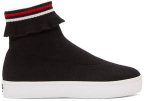 Opening Ceremony Black Bobby High-Top Sneakers