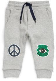Kenzo Baby's Peace Badge Cotton Sweatpants
