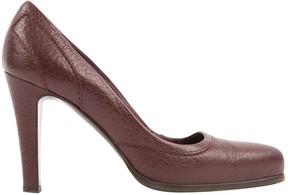 Max Mara Leather heels