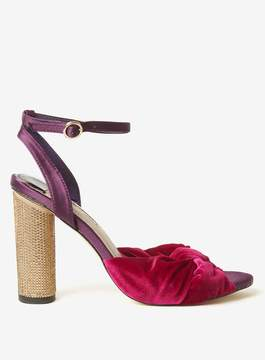 Dorothy Perkins Magenta 'Bella' Heeled Sandals