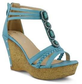 Patrizia Womens Article Open Toe Ankle Strap Classic Pumps.