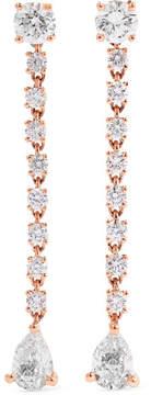 Anita Ko Rope 18-karat Rose Gold Diamond Earrings