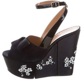 Alexa Wagner Labelle Embroidered Wedges w/ Tags