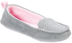 Dearfoams Women's Microfiber Terry Moccasin