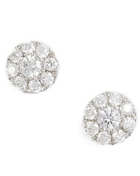 Bony Levy Women's Simple Obsessions Pave Diamond Stud Earrings (Nordstrom Exclusive)