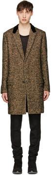 Haider Ackermann Multicolor Velvet Collar Coat