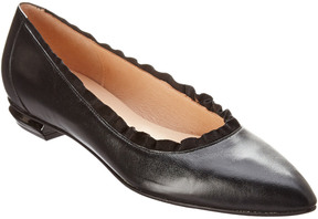 French Sole Chianti Leather Flat