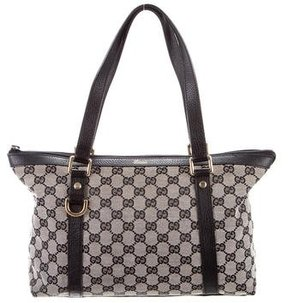 Gucci Abbey D-Ring Tote - BLACK - STYLE