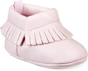 First Impressions Fringe Moccasins, Baby Girls (0-4), Created for Macy's