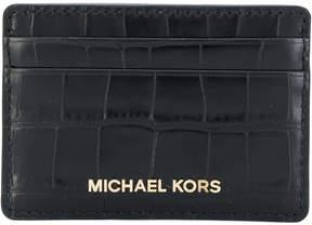 MICHAEL Michael Kors Jet Set Travel cardholder - BLACK - STYLE