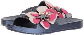 Crocs Sloane Botanical Floral Slide Women's Shoes